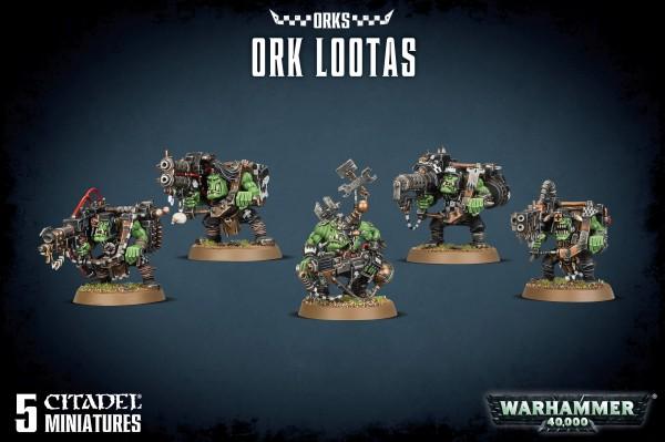 Orks - Ork Lootas / Burna Boyz