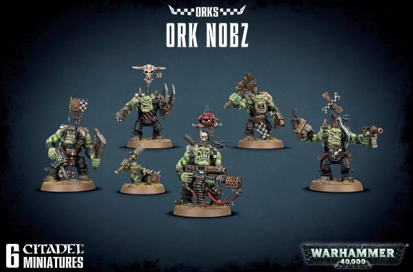 Orks - Ork Nobz