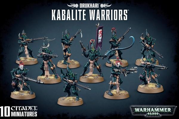 Drukhari - Kabalite Warriors