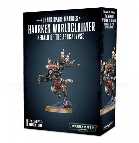 Chaos Space Marines: Haarken Worldclaimer - Herald of The Apocalypse