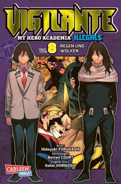 Vigilante - My Hero Academia Illegals 8
