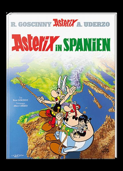 Asterix Nr. 14: Asterix in Spanien - gebundene Ausgabe