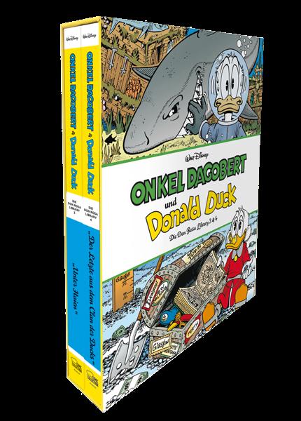 Onkel Dagobert und Donald Duck - Don Rosa Library Schuber 2 (Band 3+4)
