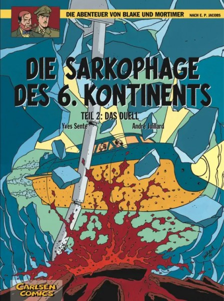 Blake und Mortimer 14: Die Sarkophage des 6. Kontinents, Teil 2