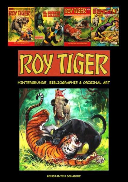 Roy Tiger - Hintergründe, Bibliographie & Original Art