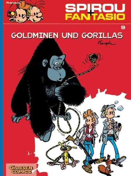 Spirou und Fantasio 9: Goldminen und Gorillas