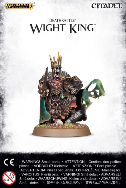 Legions of Nagash - Deathrattle Wight King