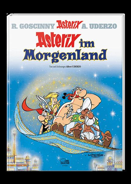 Asterix Nr. 28: Asterix im Morgenland - gebundene Ausgabe
