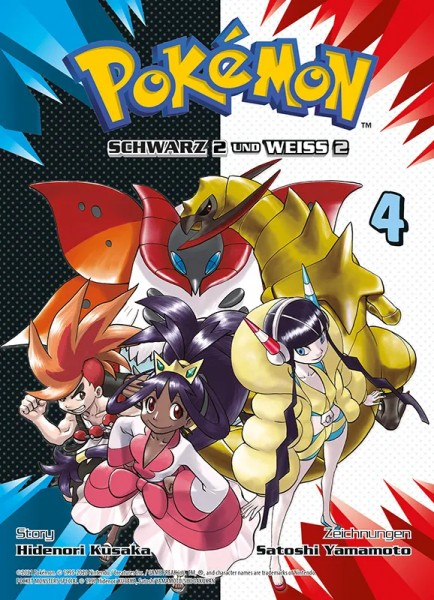 Pokémon - Schwarz 2 und Weiss 2 - Band 4