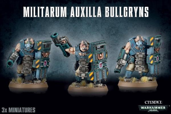 Astra Militarum Auxilla - Bullgryns
