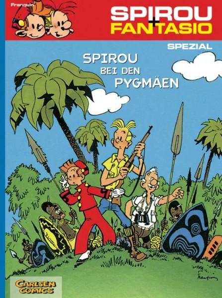 Spirou und Fantasio Spezial 3: Spirou bei den Pygmäen