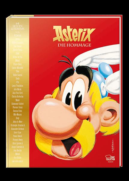 Asterix - Die Hommage - gebundene Ausgabe