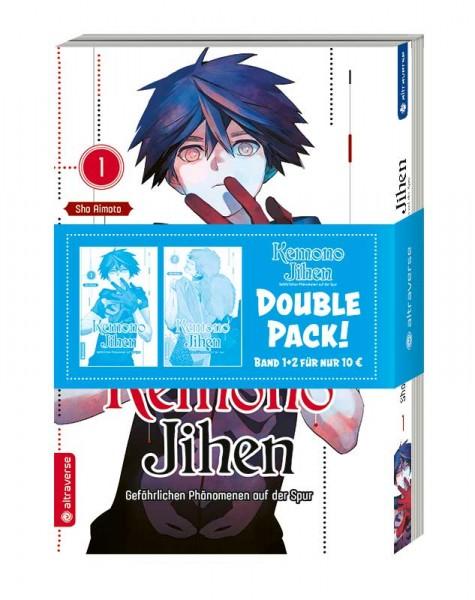 Kemono Jihen – Gefährlichen Phänomenen auf der Spur Double Pack, Band 01 & 02