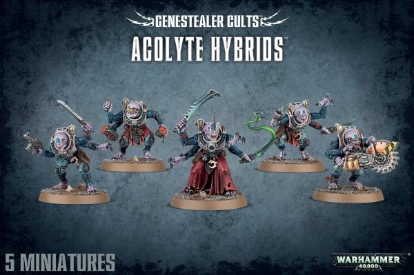 Genestealer Cults - Acolyte Hybrids