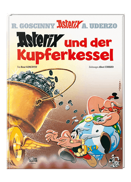 Asterix Nr. 13: Asterix und der Kupferkessel - gebundene Ausgabe