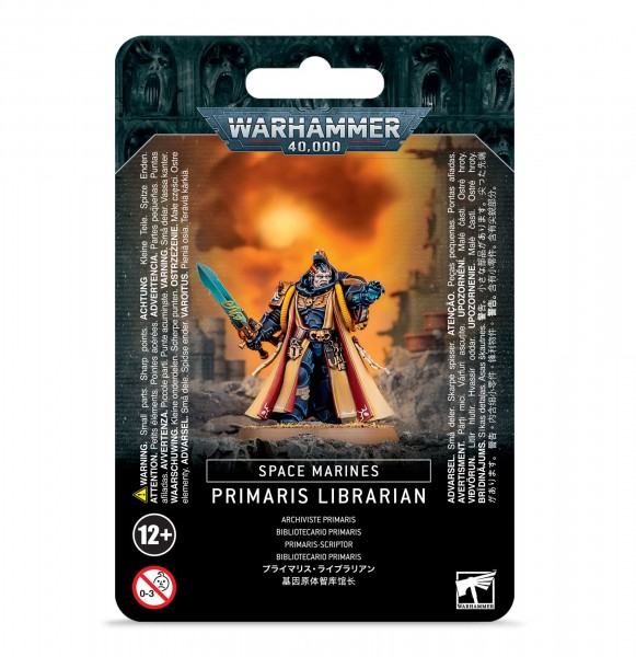 Space Marines - Primaris Librarian