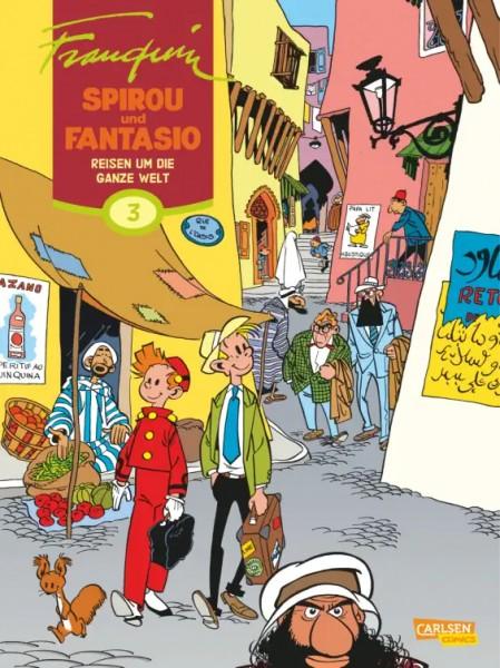 Spirou und Fantasio Gesamtausgabe 3: Reisen um die ganze Welt