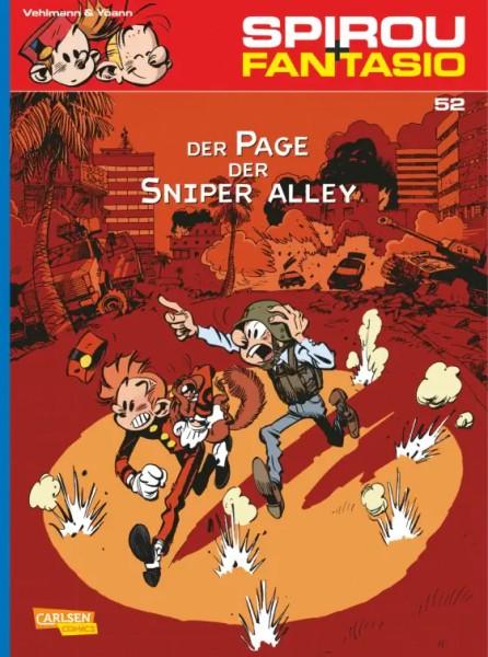 Spirou und Fantasio 52: Der Page der Sniper Alley