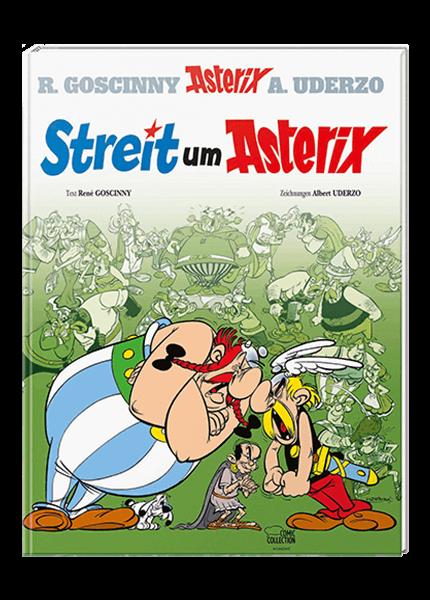 Asterix Nr. 15: Streit um Asterix - gebundene Ausgabe