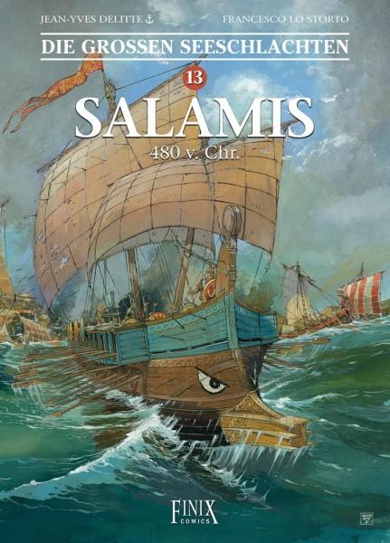 Die großen Seeschlachten 13 Salamis