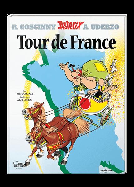 Asterix Nr. 6: Tour de France - gebundene Ausgabe