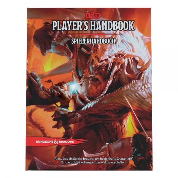 Dungeons & Dragons RPG Spielerhandbuch deutsch (2021)