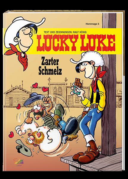 Lucky Luke Zarter Schmelz: Eine Hommage von Ralf König - gebundene Ausgabe