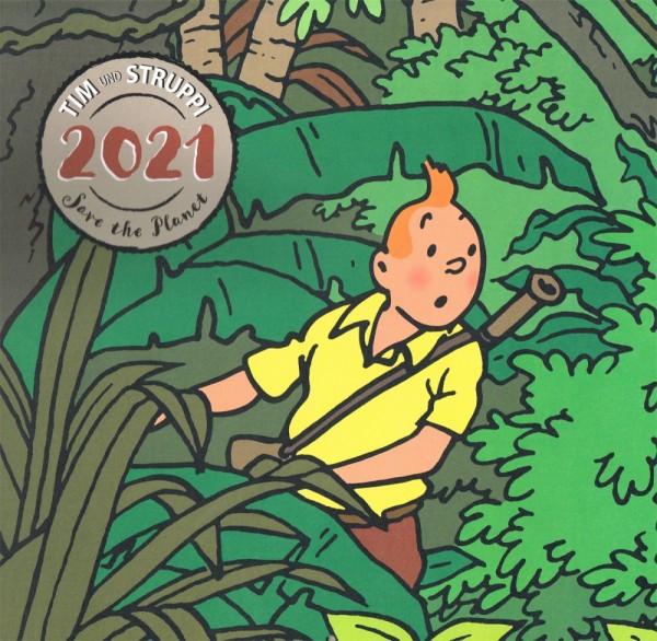 Tim & Struppi Wandkalender 2021