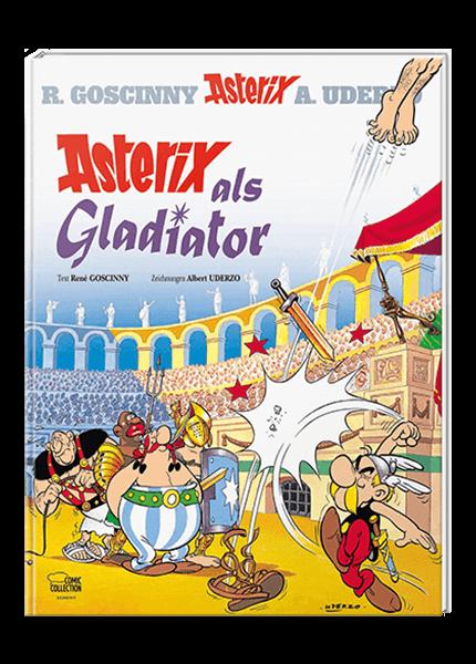 Asterix Nr. 3: Asterix als Gladiator - gebundene Ausgabe