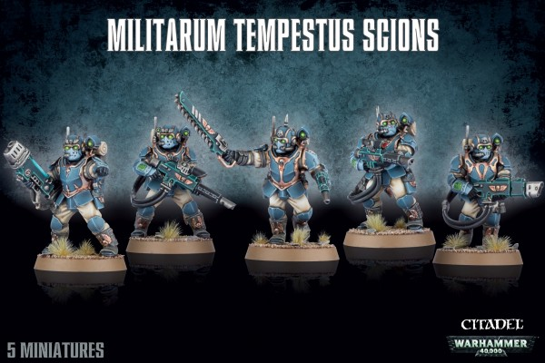Astra Militarum - Tempestus Scions