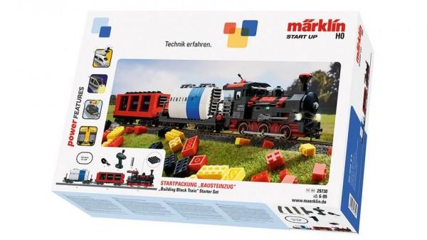 """Märklin 29730 - Märklin Start up - Startpackung """"Bausteinzug"""" mit Sound und Lichtbausteinen. 230 Vol"""