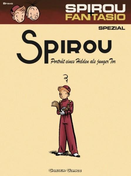 Spirou und Fantasio Spezial 8: Porträt eines Helden als junger Tor