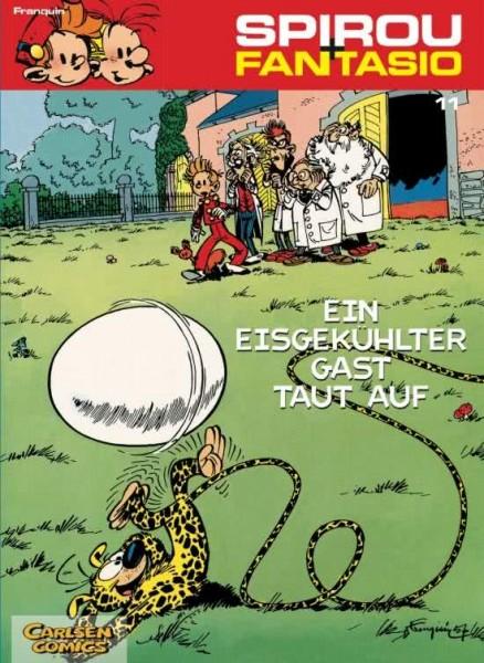 Spirou und Fantasio 11: Ein eisgekühlter Gast taut auf