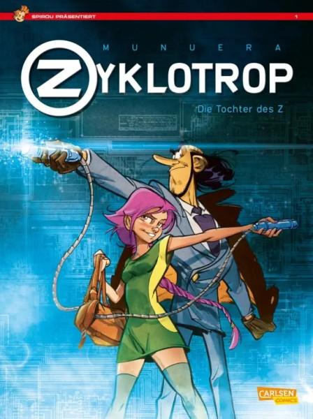 Spirou präsentiert 1: Zyklotrop I: Die Tochter des Z