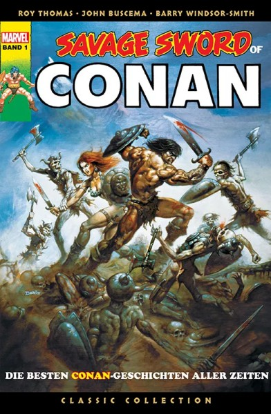 Savage Sword of Conan - Classic Collection 1