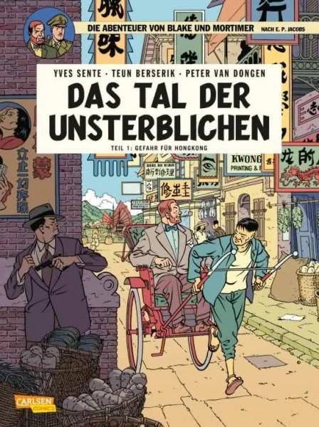 Blake und Mortimer 22: Das Tal der Unsterblichen, Teil 1: Gefahr für Hongkong