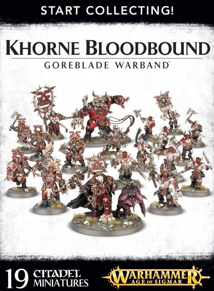 Start Collecting! - Khorne Bloodbound Goreblade Warband