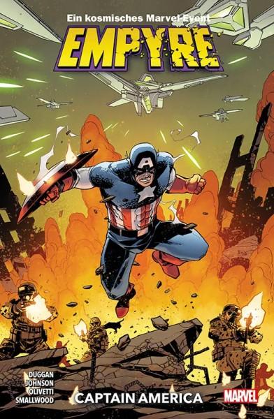 Empyre Sonderband - Captain America