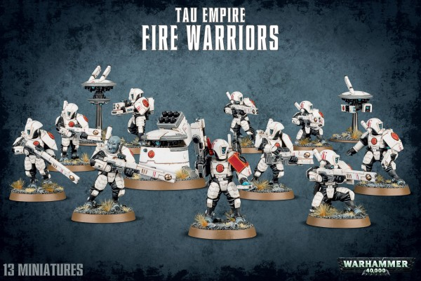 Tau Empire - Fire Warriors Strike-Team / Breacher-Team