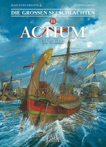 Die großen Seeschlachten 11 Actium