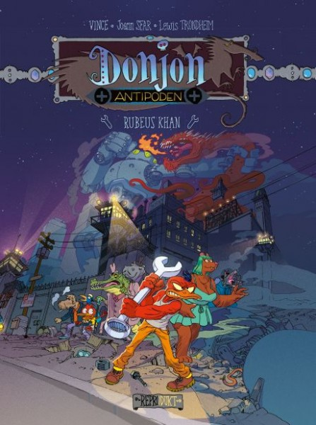 Donjon Antipoden +10.000: Rubeus Khan