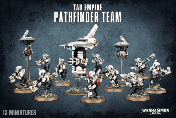 Tau Empire - Pathfinder Team
