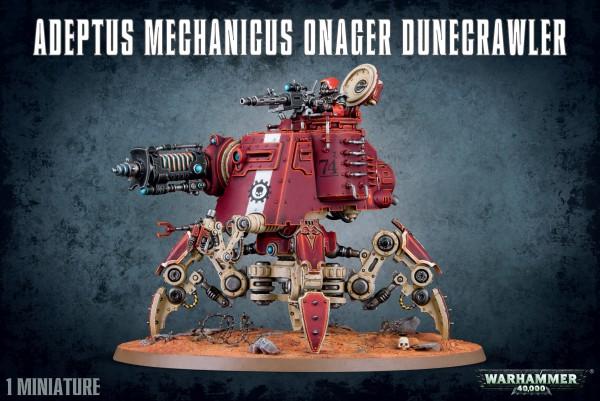 Adeptus Mechanicus - Onager Dunecrawler