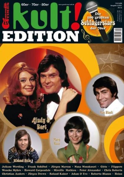 kult! Magazin - Edition 6 - Die 100 größten Schlagerstars der 70er Jahre