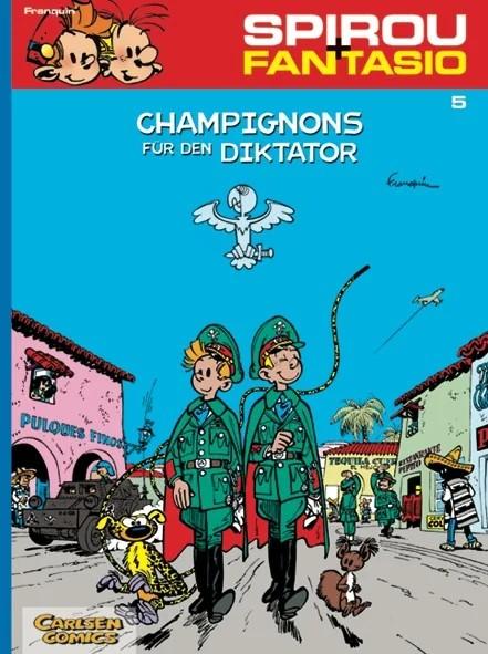 Spirou und Fantasio 5: Champignons für den Diktator