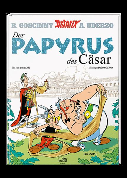 Asterix Nr. 36: Der Papyrus des Cäsar - gebundene Ausgabe