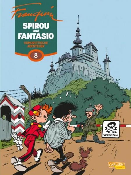 Spirou und Fantasio Gesamtausgabe 8: Humoristische Abenteuer