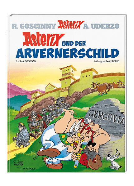 Asterix Nr. 11: Asterix und der Arvernerschild - gebundene Ausgabe