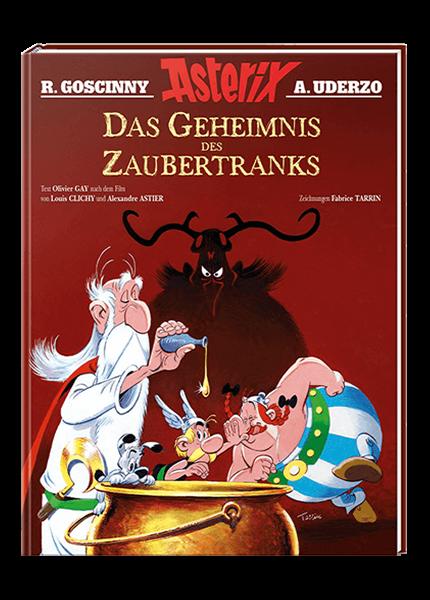 Asterix - Das Geheimnis des Zaubertranks - gebundene Ausgabe
