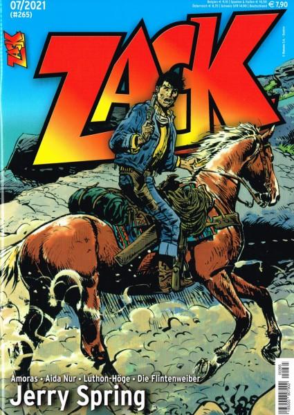 Zack Magazin 265 - 07/2021